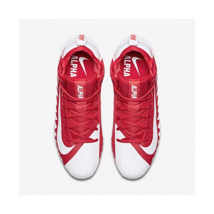 Nike Alpha Menace Pro Mid Buty Futbolowe (8.5 US) Red White