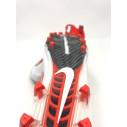 Nike Vapor Untouchable Pro Football Cleats White Orange Carbon