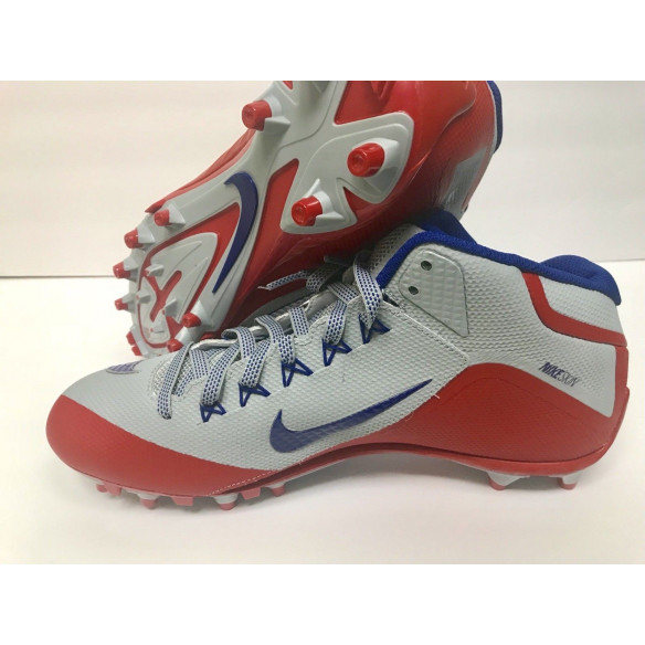 Nike Alpha Pro 2 NY Giants Silver/Red
