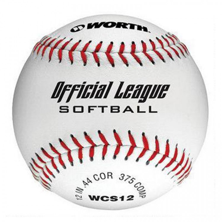 Piłka Softball Official League Slow Pitch  Worth 12 IN