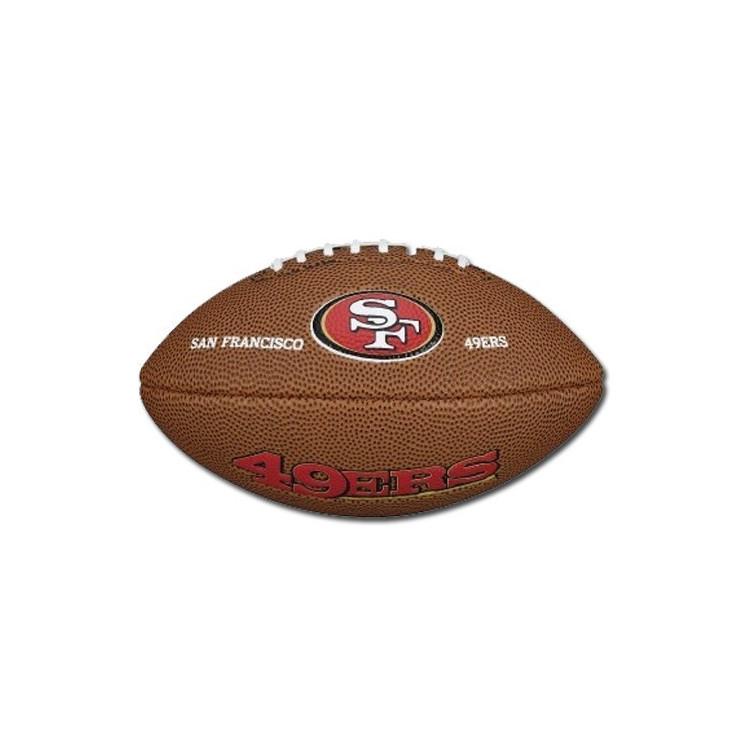 Piłka Futbolowa Wilson Mini NFL TEAM LOGO FB SW 49ERS