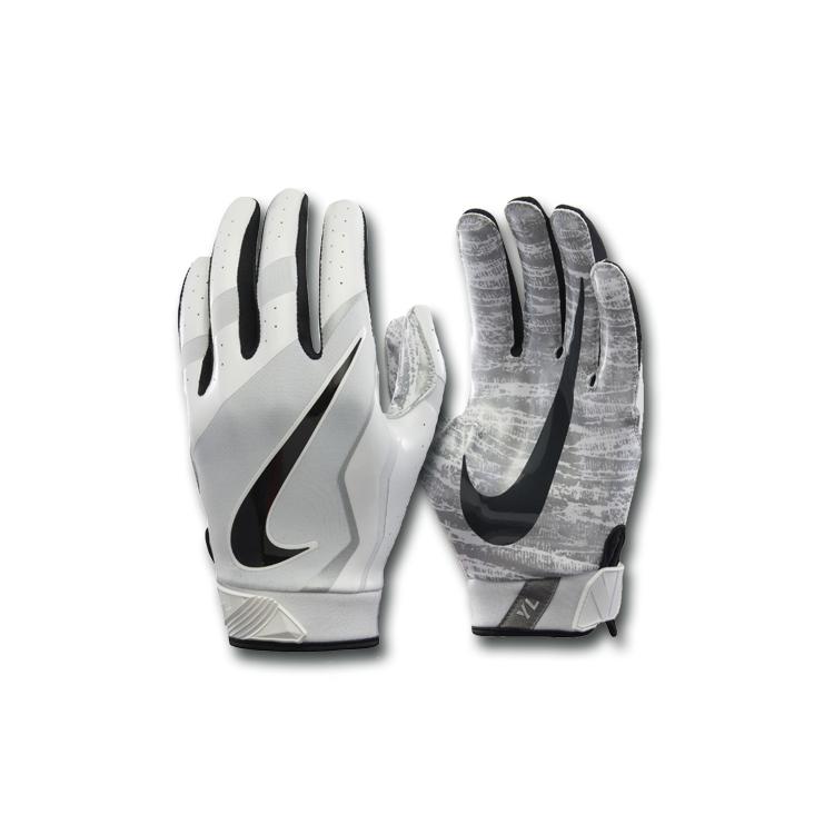 Nike Vapor Jet 4 ADULT WHITE Rękawiczki Futbolowe