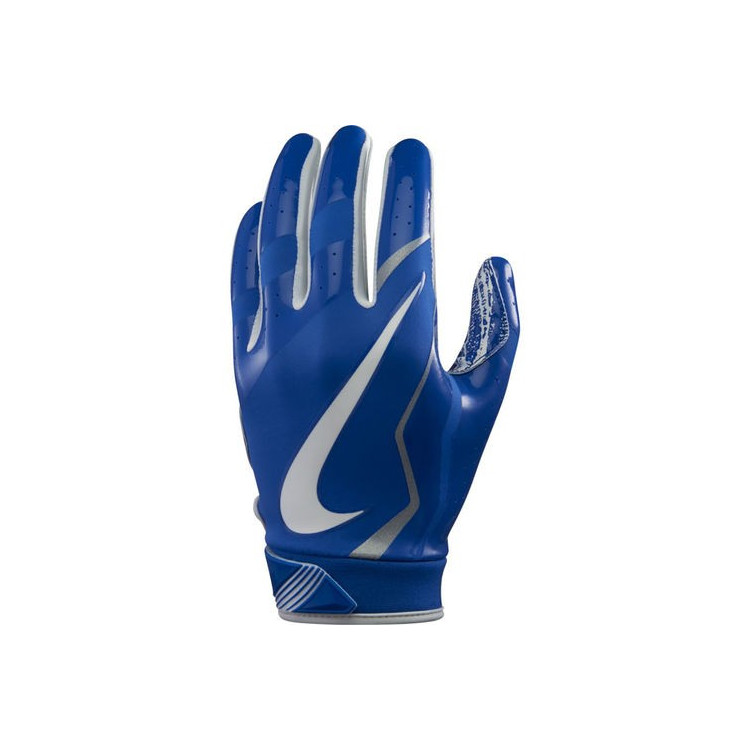 Nike Vapor Jet 4 ADULT Royal Football Gloves