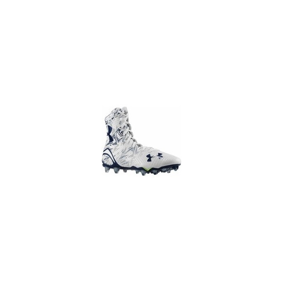 Under Armour Highlight White Navy Football Cleats