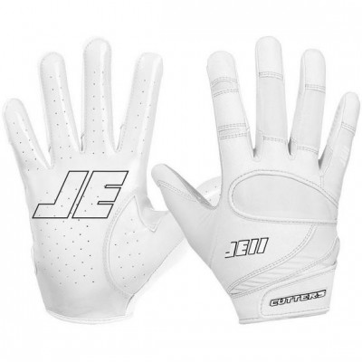 Cutters JE11 Fan Series Football Gloves White