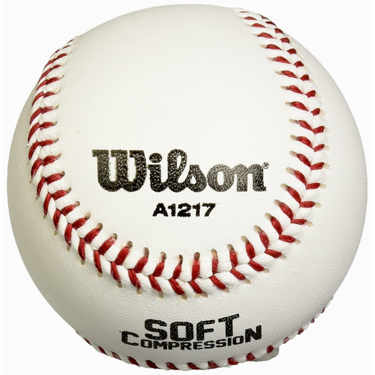 WILSON WTA1217B+ Wilson Soft Compression Ball Baseball