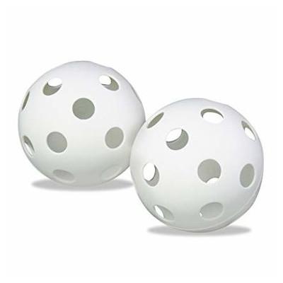 Benson Wiffle Plastic Softball White