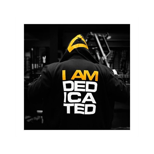 "DEDICATED SLIMFIT HOODIE "" IAMDEDICATED "" BLUZA"
