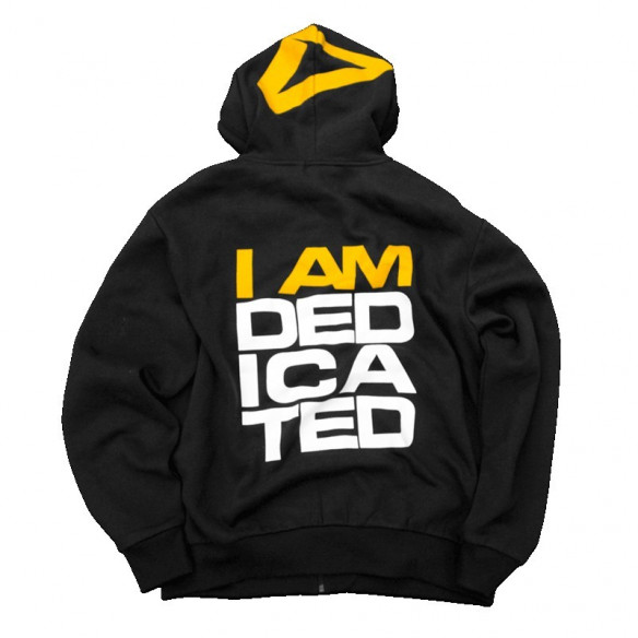 "DEDICATED TRACKSUIT HOODIE "" I AM DEDICATED ""BLUZA"