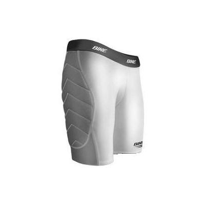 Bike padded sliding shorts - white
