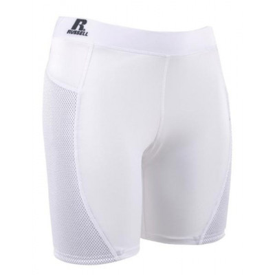 Russell Szorty damskie Sliding Shorts - białe