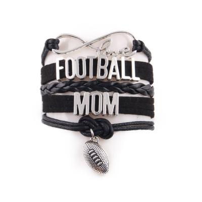 Football Mum Juwelry Bransoletka dla mamy