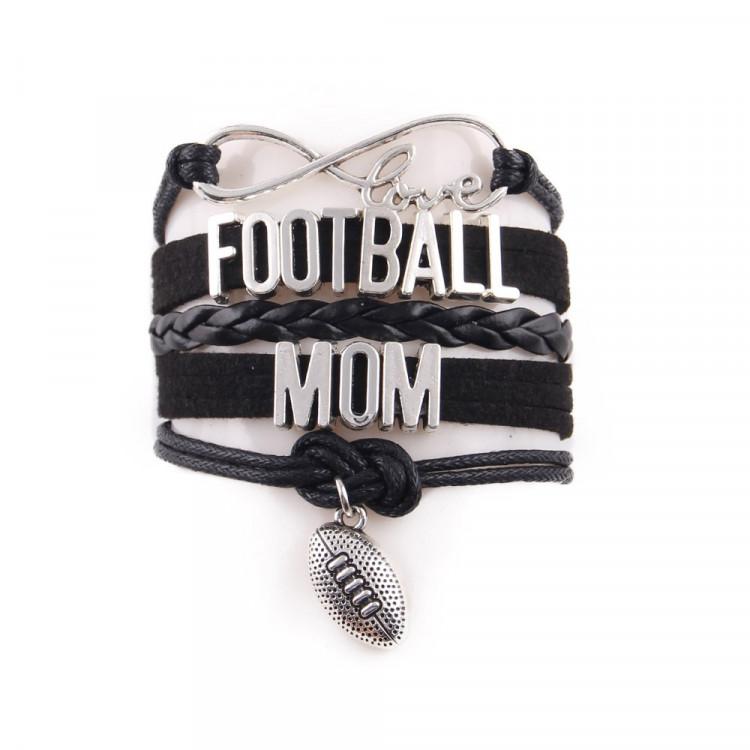 Football Mum Juwelry Bracelet for football moms