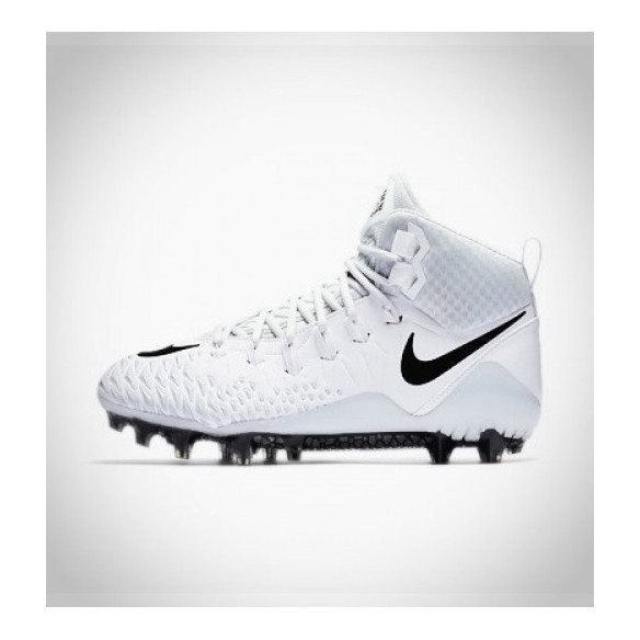 Nike Force Savage Pro white/grey Football Cleats
