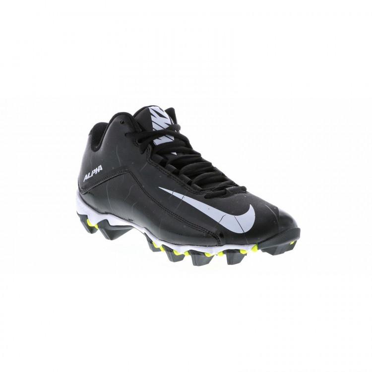 Nike Alpha Shark 2 Black - Football Cleats