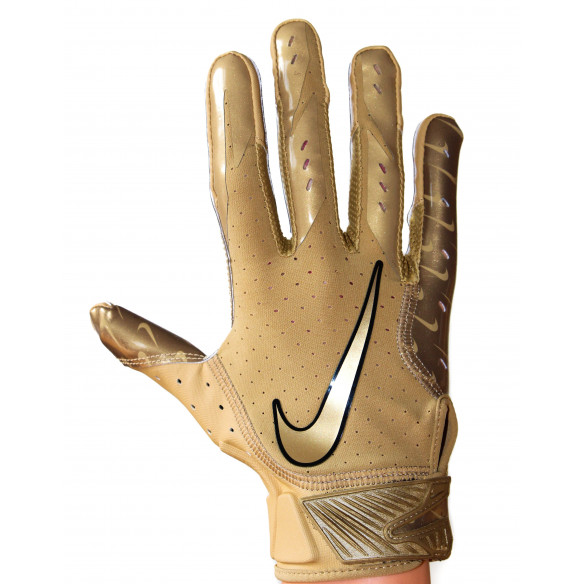Nike Vapor Jet 5 - Gold Football Gloves LIMITED EDITION
