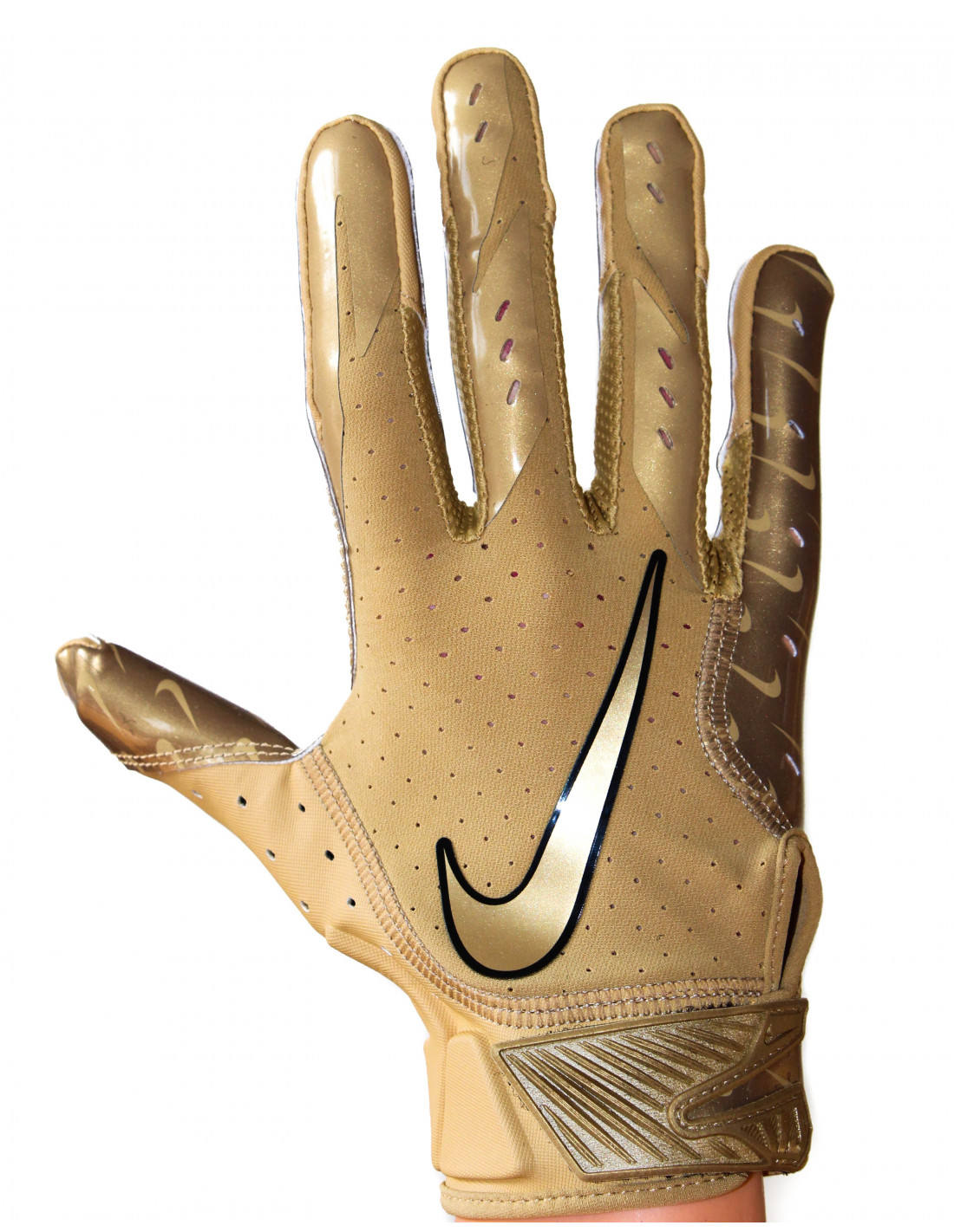 f78d253cce7 Nike Vapor Jet 5 Gold Football Gloves LIMITED EDITION Sport House shop