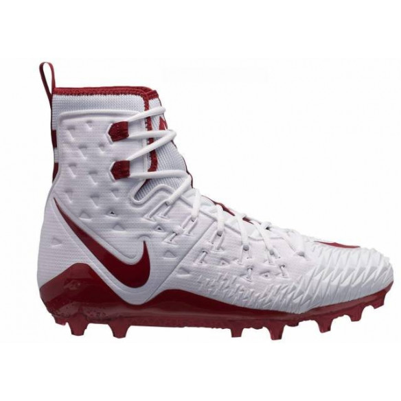 Nike Force Savage Elite Lineman Wht-Red Buty Futbolowe