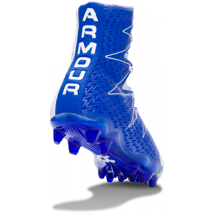 Under Armour Highlight white-royal - Football Shoes