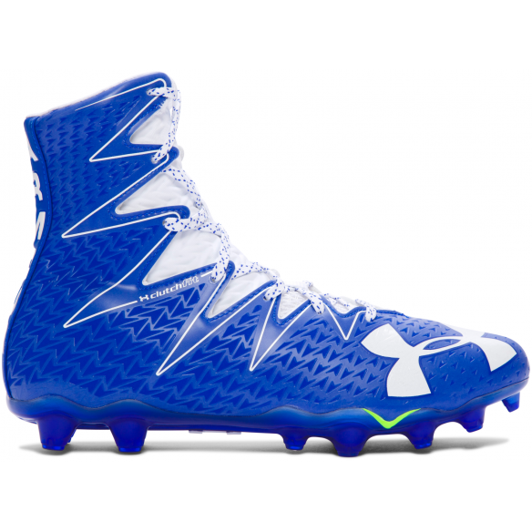 Under Armour Highlight white-royal - Buty Futbolowe