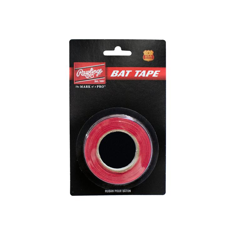 Rawlings Taśma do pałki baseballowej - Czerwona