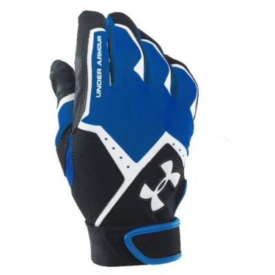 Under Armour Blue - Baseball Batting Gloves