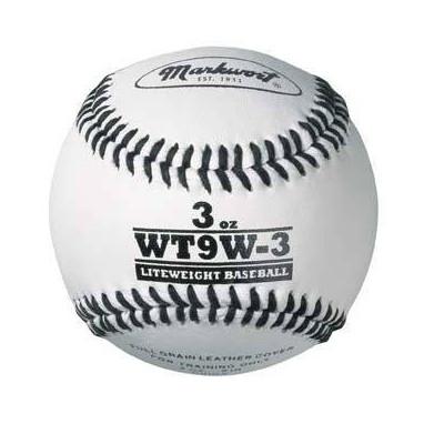 Markwort Weighted White Skórzana piłeczka baseballowa (WT9W)