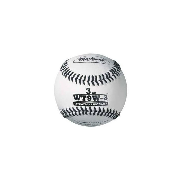 Markwort Weighted White Leather Baseball (WT9W)