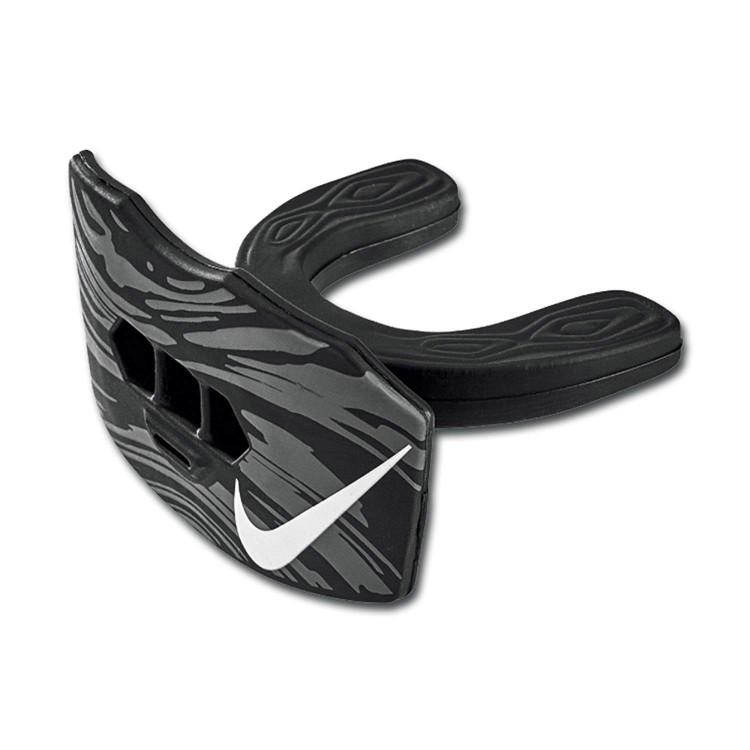 Nike GAME-READY Szczęka z ochraniaczem na usta - Czarna