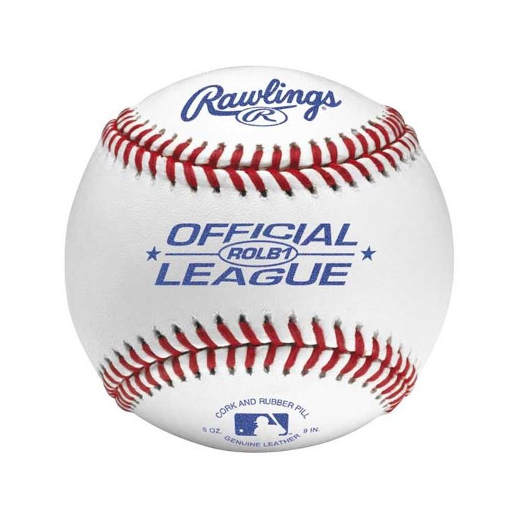 Rawlings ROLB1 Skórzana piłeczka baseballowa