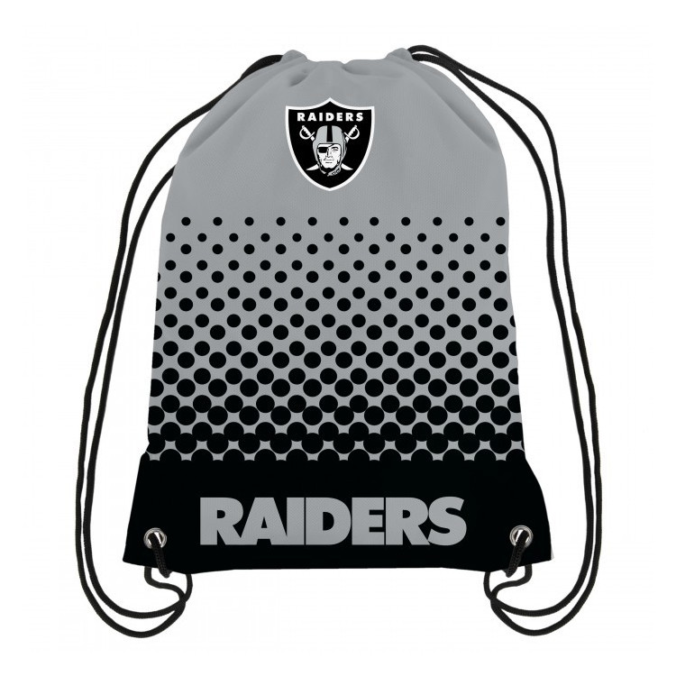 Oakland Raiders Fade Gym Bag