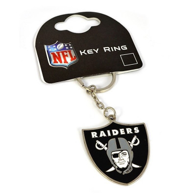 Oakland Raiders Crest Key Ring
