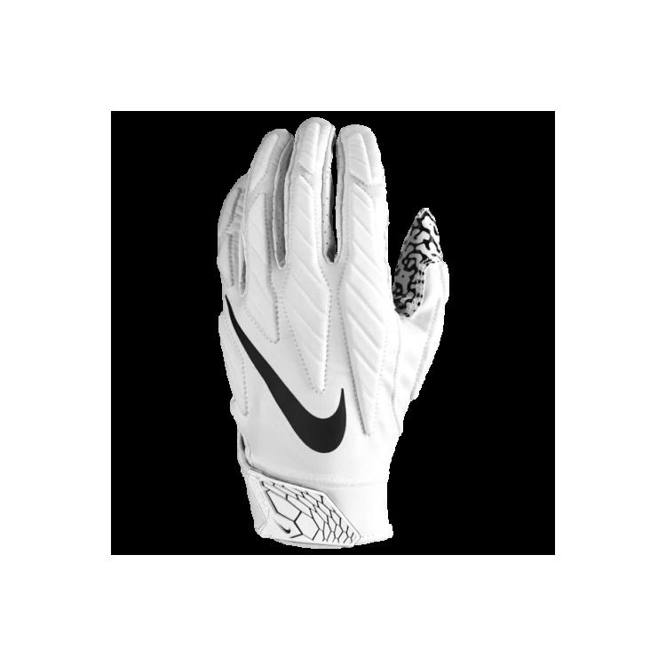 Nike Superbad 5.0 - BIAŁE - Rękawiczki futbolowe