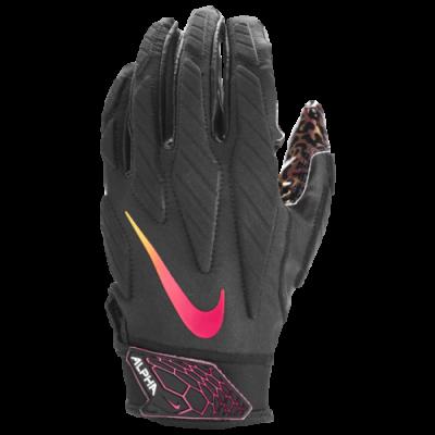 Nike Superbad 5.0 Czarne-neon - Rękawiczki futbolowe
