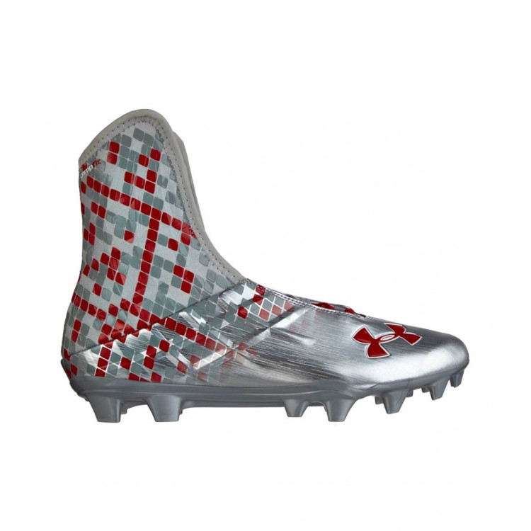 Under Armour Highlight MC S 16 Silver Red