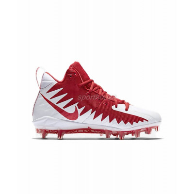 Nike Alpha Menace Pro Mid Buty Futbolowe (8.5 US) Red White