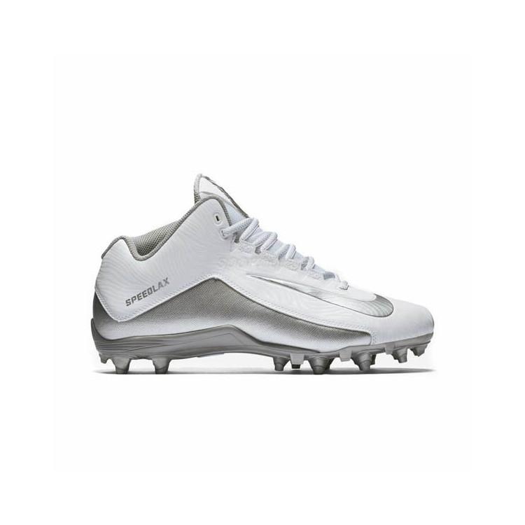 Nike SpeedLax 5 - Lacrosse White Men's Shoes