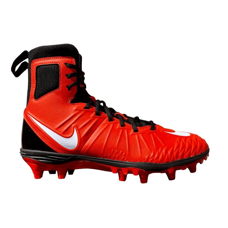 Nike Force Savage Varsity High Football Cleats(US 10) Orange Black