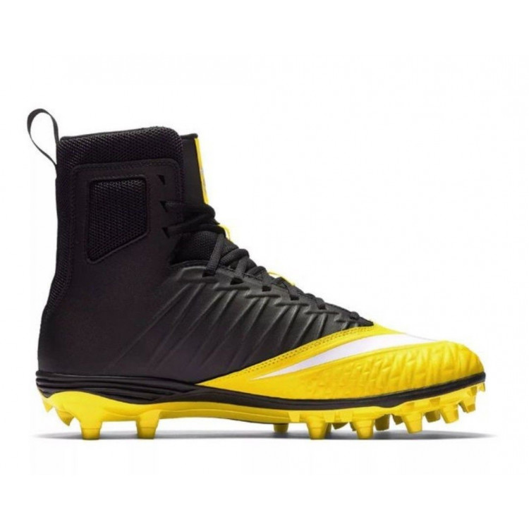 New Nike Force Savage Varsity Miaze Football Yellow