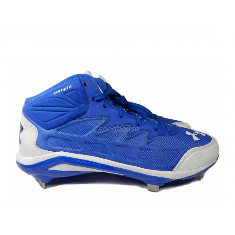 Under Armour Heater ST Mid  Metal Baseball Cleats