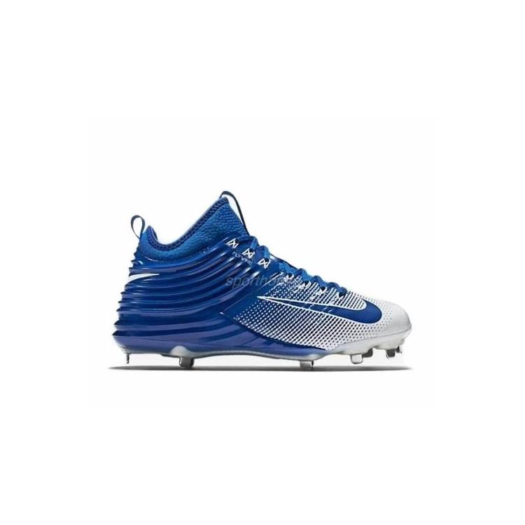 Nike Lunar Trout 2 white/royal Baseball Cleats