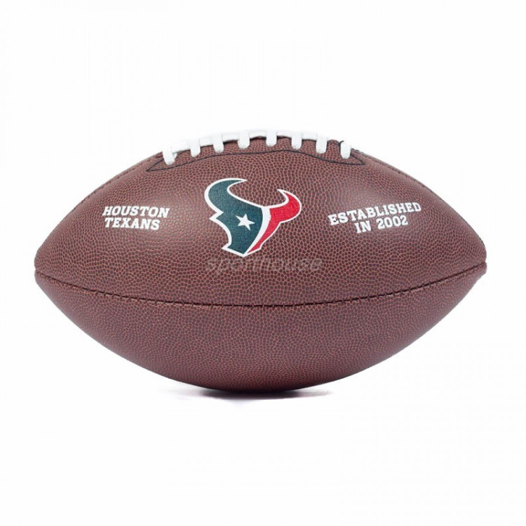 PIŁKA FUTBOLOWA Wilson NFL MINI TEAM LOGO Houston Texans