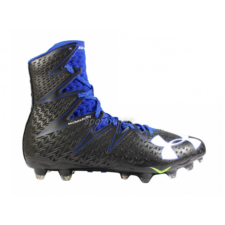 Under Armour Highlight Blue-black - Football Shoes