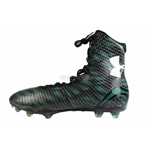 Under Armour Highlight blk-green- Football Shoes