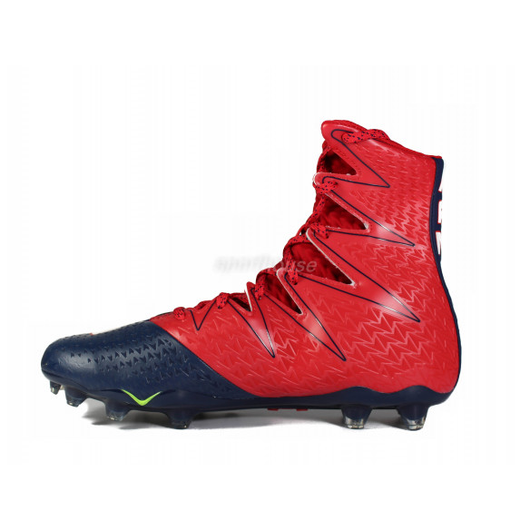 Under Armour Highlight MC Red/Navy Football Shoes