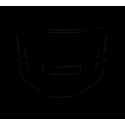 Kratka Riddell 360-2BD Facemask Czerwona